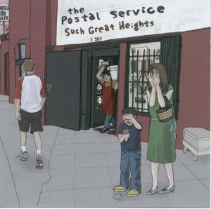 POSTAL SERVICE, THE - SUCH GREAT HEIGHTS 17877