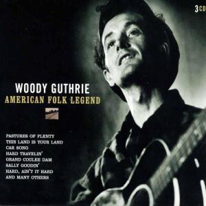 GUTHRIE, WOODY - AMERICAN FOLK LEGEND 27351
