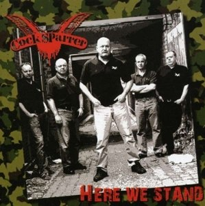 COCK SPARRER - HERE WE STAND 32046