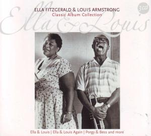 FITZGERALD, ELLA & ARMSTRONG, LOUIS - CLASSIC ALBUM COLLECTION 33190