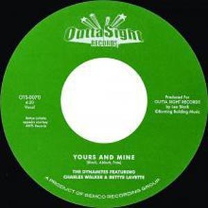 WALKER, CHARLES & BETTYE LAVETTE - YOURS & MINE/ SERENDIPITY 54297