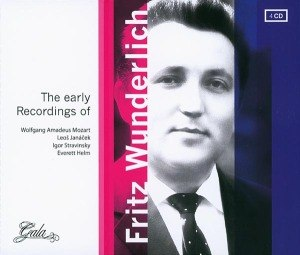 WUNDERLICH, FRITZ - THE EARLY RECORDINGS OF 54802