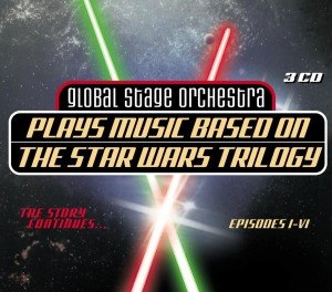 STAR WARS - GLOBAL STAGE ORCHESTRA - STAR WARS - MUSIC FROM EPISODES I-V 55525