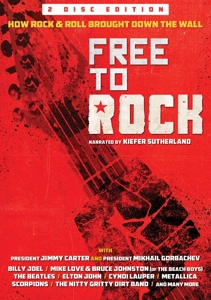 VARIOUS - FREE TO ROCK: HOW ROCK & ROLL BROUG 119050