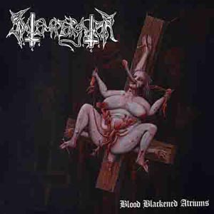 INTEMPERATOR - BLOOD BLACKENED ATRIUMS (RED VINYL) 122905