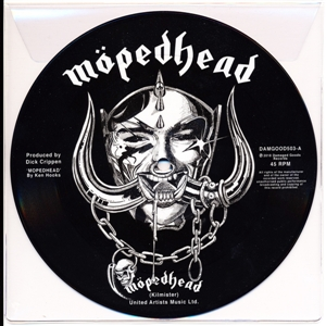 JOHNNY MOPED - MOTORHEAD (VINYL PICTURE DISC) 127750