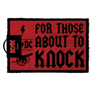 AC/DC - FOR THOSE ABOUT TO KNOCK (DOORMAT) 130654