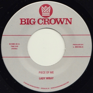 LADY WRAY - PIECE OF ME / COME ON IN 132738