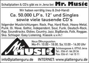 Mr. Music, Schallplattenhandel